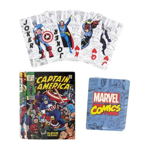 Τράπουλα Captain America Comic Book Cards