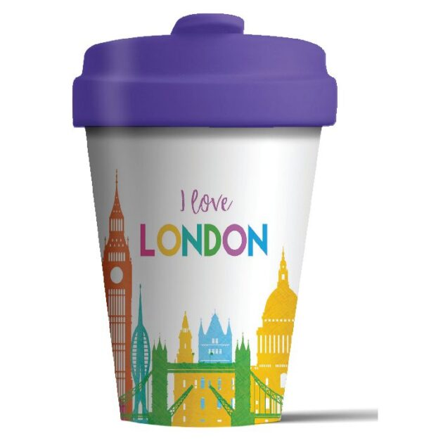 Κούπα BambooCup Bamboo London Skyline