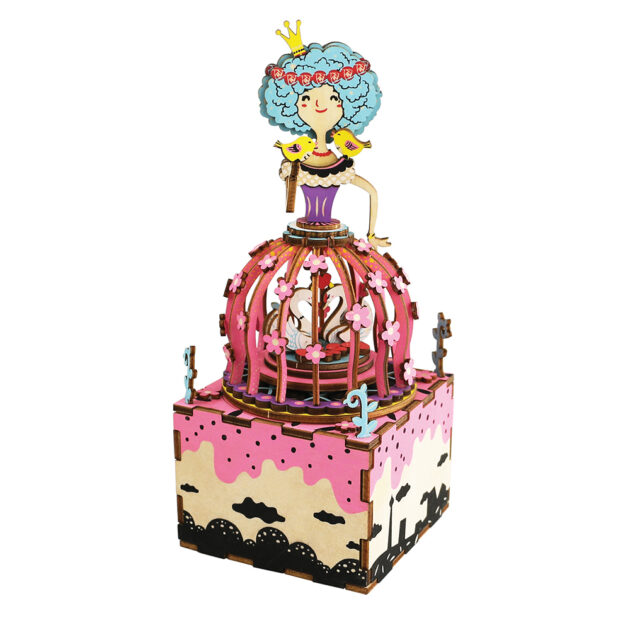 3D WOODEN PUZZLE -MUSIC BOX- Princess