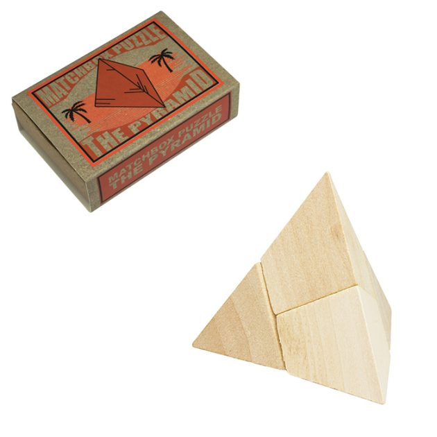 Matchbox Puzzle The Pyramid
