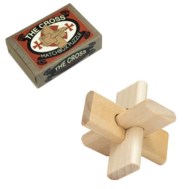 Matchbox Puzzle The Cross