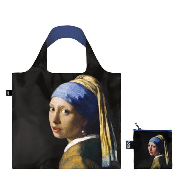 Τσάντα J.Vermeer – Girl with a pearl earring Loqi Bag museum collection