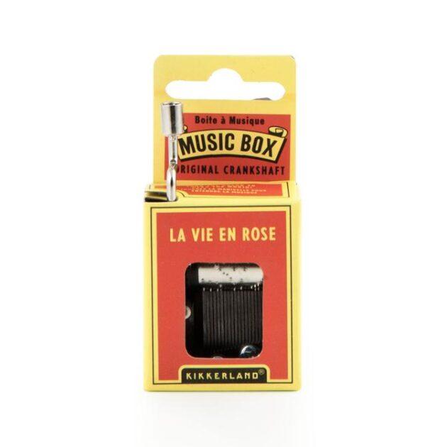 Μουσικό κουτί - La vie en rose