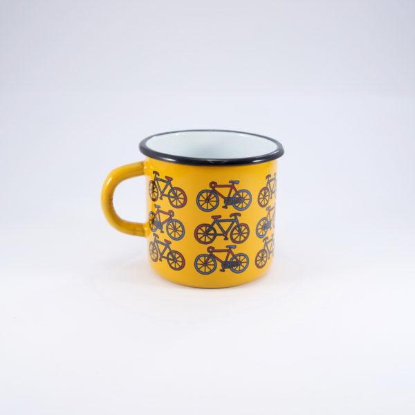 Smaltum κούπα εμαγιέ ποδήλατα 8cm