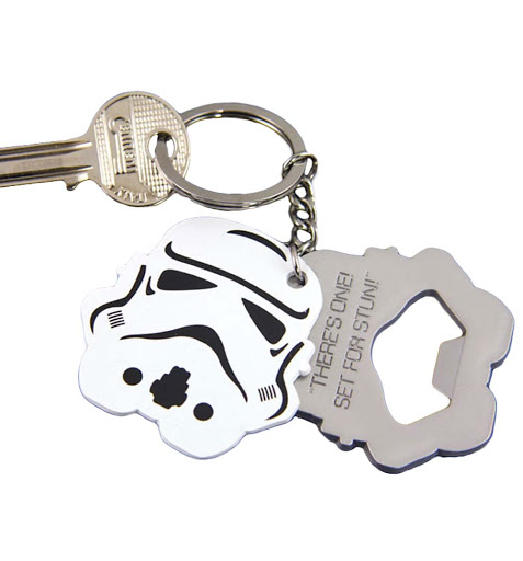 STAR WARS-STORMTROOPER-KEYCHAIN & BOTTLE OPENER