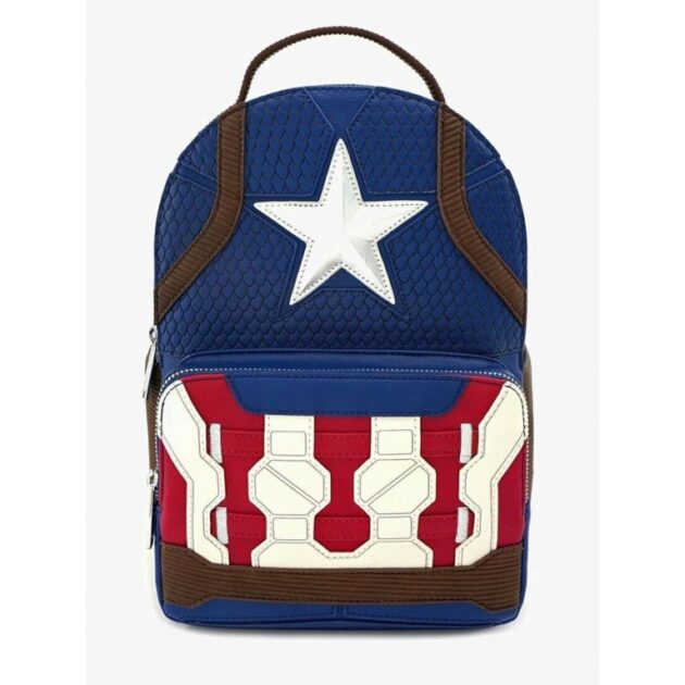 Captain America Backpack by Loungefly