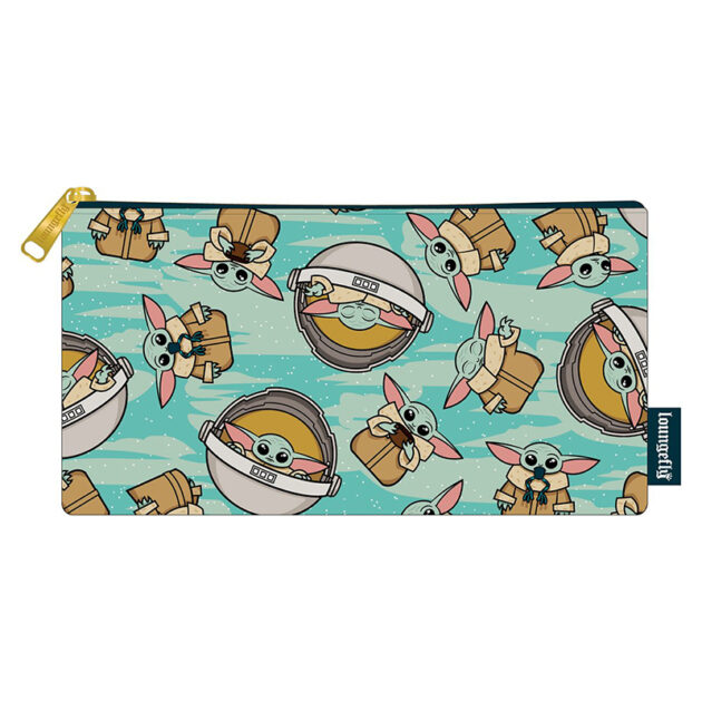 Loungefly Star Wars The Mandalorian The Child Zipper Pouch