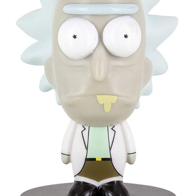 Rick Icon Light Φωτίστε το δωμάτιο σας ή το επιστημονικό σας εργαστήριο με το mini φωτιστικό από την αγαπημένη σας σειρά Rick & Morty . Μια συλλεκτική φιγούρα του επιστήμονα Rick 10 εκατοστών. Απαιτεί 2 μπαταρίες ΑΑ οι οποίες δεν συμπεριλαμβάνονται στην συσκευασία. Επίσημο προϊόν της Paladone