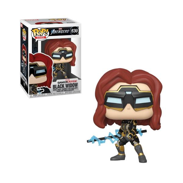 Funko POP! Marvel Avengers Gameverse - Black Widow (Stark Tech Suit) #630 Figure