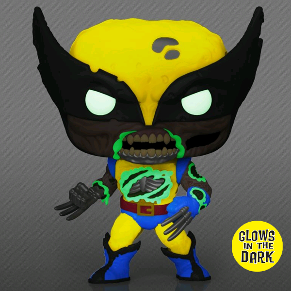 Zombie Wolverine Συλλεκτική vinyl pop φιγούρα από την Funko. Category: Marvel Product type: Pop! See more: Marvel Zombies It comes with silver sticker Glows in the Dark