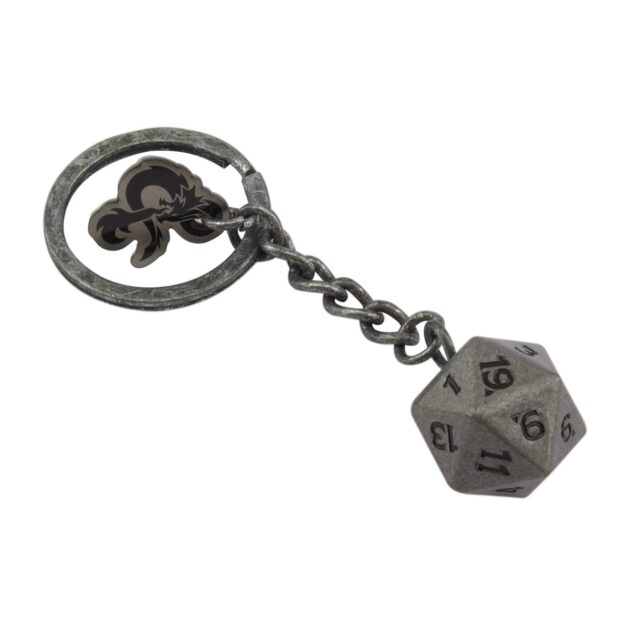 Dungeons & Dragons D20 Key Chain
