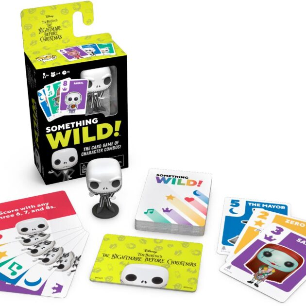 Something Wild! Funko Card Game - The Nightmare Before Christmas