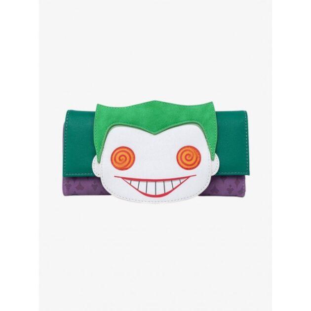 loungefly dc comics joker eyes wallet
