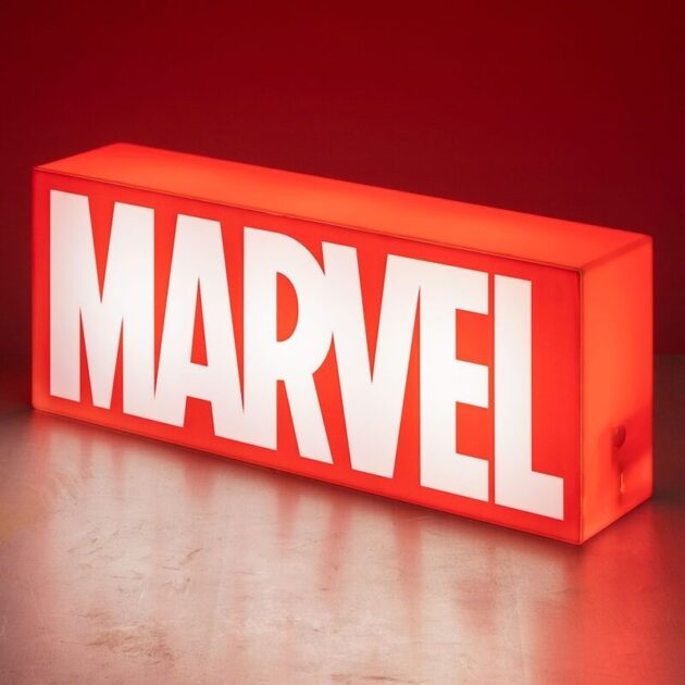 marvel logo light by paladone