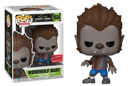 Funko POP! The Simpsons - Werewolf Bart #1034 Figure (NYCC 2020 Exclusive)