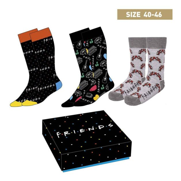 friends socks in a box