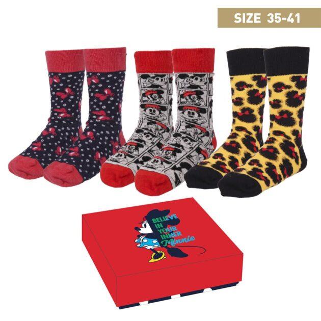 minnie socks in a box