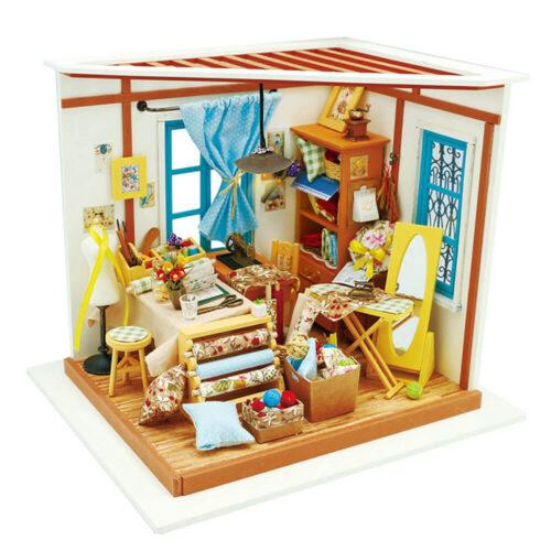 3d puzzle miniature house Lisa's tailor