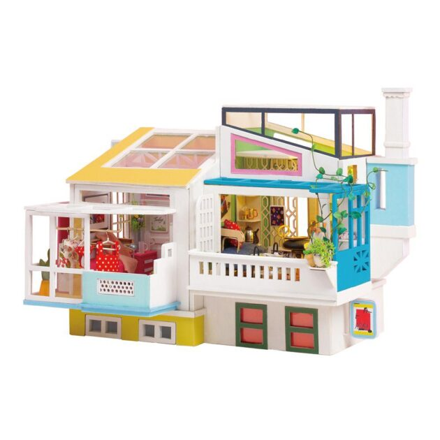 3D Puzzle Loving Neighborhood DIY Miniature House