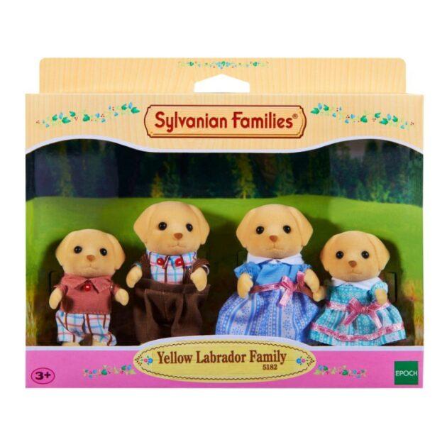 Sylvanian Families Yellow Labrador Family
