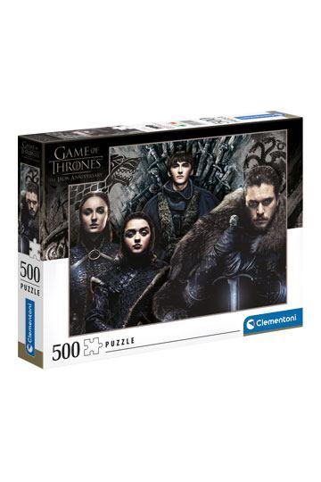 Puzzle Game of Thrones Ένα παζλ 500 κομματιών από την Clementoni! Game of Thrones puzzle!