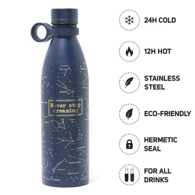 vacum bottle stars 800ml μπουκάλι θερμός