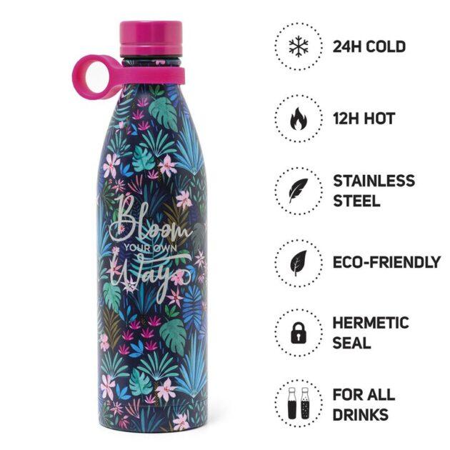 vacum bottle flora 800ml θερμός μπουκάλι