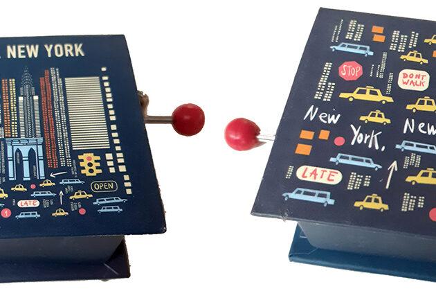 μουσικό κουτί new york music box
