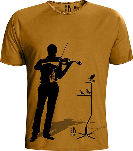replica t-shirt 100% organic cotton