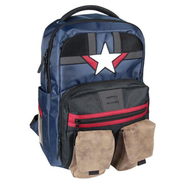 captain america backpack σακίδιο πλάτης τσάντες σχολικά είδη