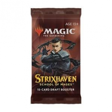 Magic the Gathering Draft Booster - Strixhaven: School of Mages