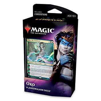 Magic the Gathering Throne of Eldraine 'Oko' Planeswalker Deck