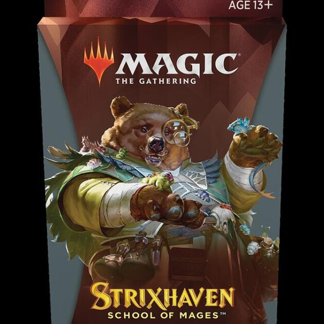 Strixhaven Witherbloom Theme Booster