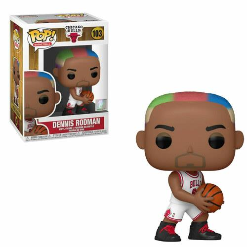 Funko POP! NBA: Legends - Dennis Rodman (Bulls Home) #103 Figure