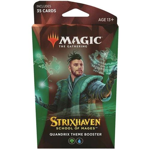 quantrix magic the gathering school of mages theme booster
